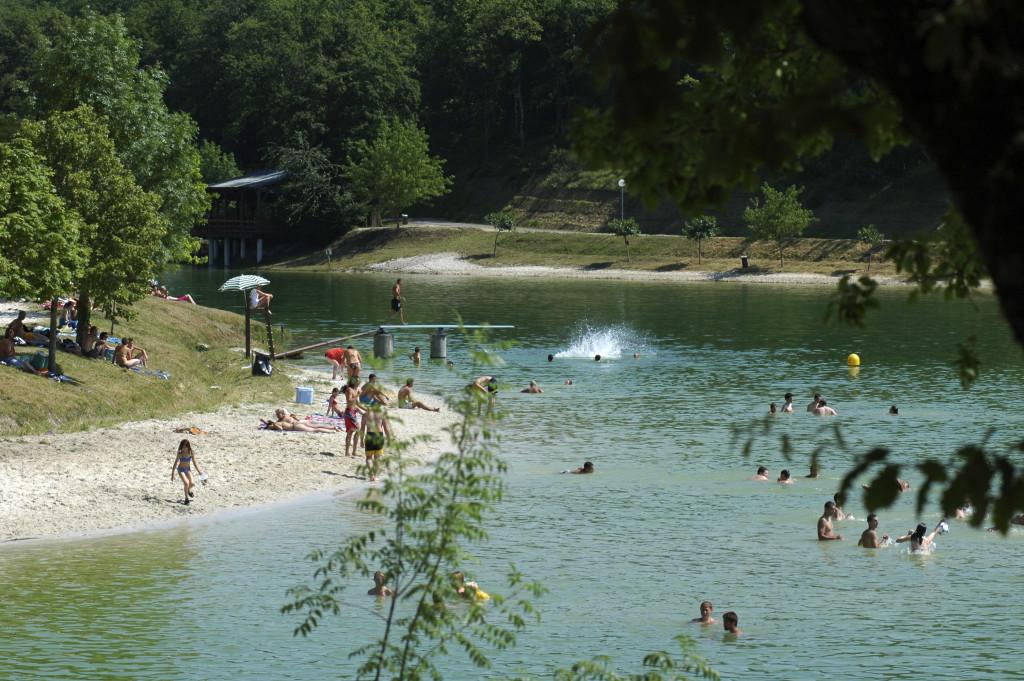 Lac Montaigu-de-Quercy
